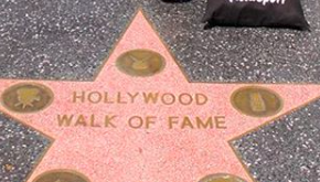 USA Walk of Fame Hollywood