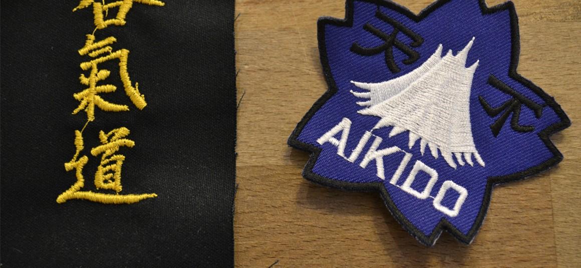 Aikido Aufnäher
