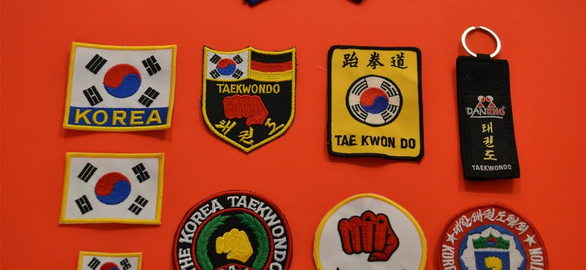 Aufnäher Sticker TKD