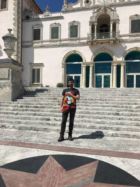 Vizcaya Museum. Miami, Florida USA geschickt von Aikido Meister Steven