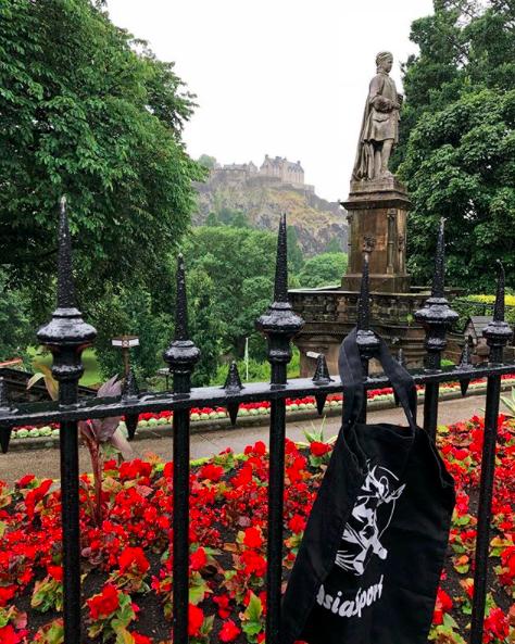 Schottland Statue Edinburgh